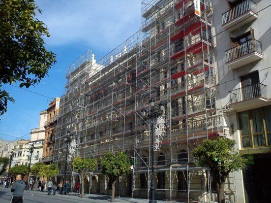 Coste metro cuadrado rehabilitar edificios barcelona
